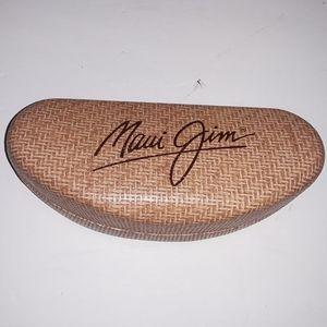 Maui Jim faux bamboo sunglasses case - GUC